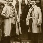 gen. J. Haller przed szybem Daniłowicza, 2 lipca 1919