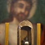 Lampka olejowa do oświetlania  kaplic