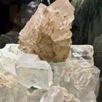 Zespół kryształów z Grot Kryształowych