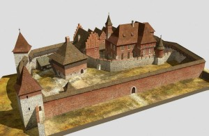 Zamek Żupny, I poł. XV w.