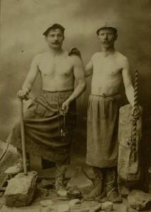 dawni górnicy