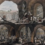 przekrój kopalni Johannes Esaias Nilson,  1768 r.