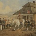 rtur Grottger - Sprzedaż konia w Śledziejowicach