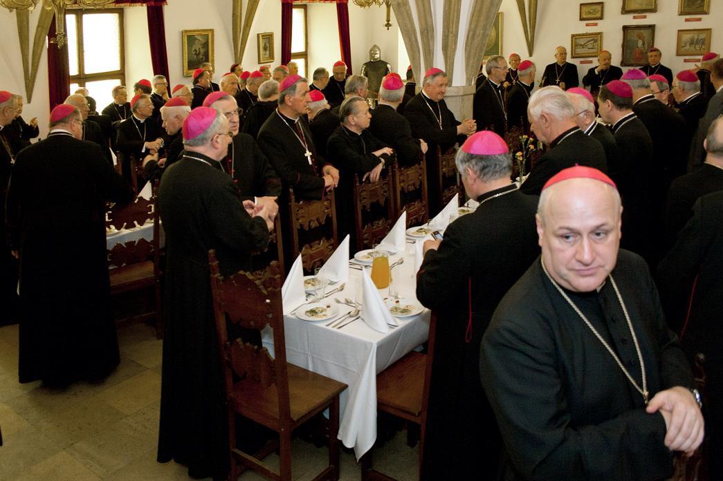 Biskupi w Zamku Żupnym