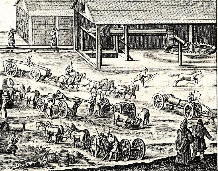 Plany miasta i kopalni z 1645 r.