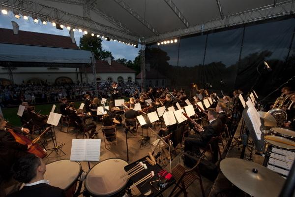 Koncert Inauguracyjny w wykonaniu Orkiestry Akademii Beethovenowskiej, dziedziniec Zamku Żupnego