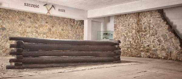600x262 szyb górniczy, Zamek Żupny, Muzeum Żup krakowksich Wieliczka