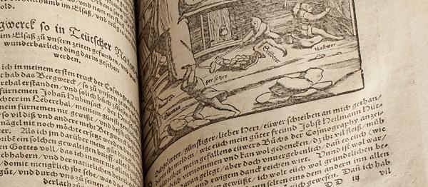 S. Münster, Cosmographey oder Beschreibung... Cenny starodruk zawierający jeden z pierwszych...