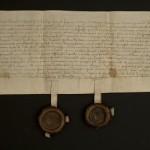 Najstarszy dokument z 1492 r.