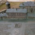Zamek Żupny, makieta z brązu, Muzeum Żup Krakowskich Wieliczka (2)