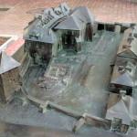 Zamek Żupny, makieta z brązu, Muzeum Żup Krakowskich Wieliczka (3)
