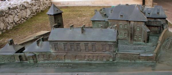 Zamek Żupny, makieta z brązu, Muzeum Żup Krakowskich Wieliczka (4)