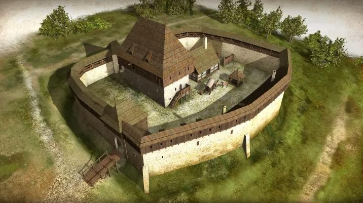 Amazing 3D animations of the Saltworks Castle