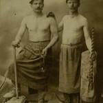 Józef i Tomasz Markowscy, fot. W. Gargul, lata 30. XX w., arch. Muzeum Żup Krakowskich Wieliczka