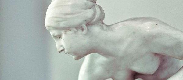 262 Rzeźba dziewczyny z muszlą, Emil Gaunes