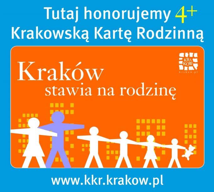 Muzeum dołączyło do programu Krakowska Karta Rodzinna 4+