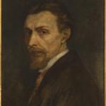 Autoportret, mal. F.Olesiński ok. 1889 r., Muzuem Żup Krakowskich Wieliczka