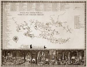 Kartografia górnicza, Muzeum Żup Krakowskich Wieliczka