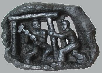 Wystawa: Krzemień, węgiel, sól – kształty ukryte