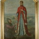 obraz do kaplicy św. Kingi, F. Olesiński, Muzeum Żup Krakowskich Wieliczka
