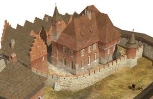 cyfrowa rekonstrukacja 3D XV w., Muzeum Żup Krakowskich Wieliczka