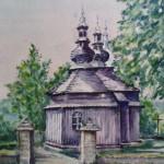 Cerkiew w Brunarach, mal. Edward Ciołczyk