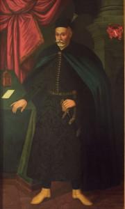 Sebastian Lubomirski, żupnik w latach 1581-1591 Zbiory Muzeum Żup Krakowskich Fot. Artur Grzybowski