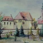 Zamek Żupny, Wieliczka, mal. Jan Niemiec