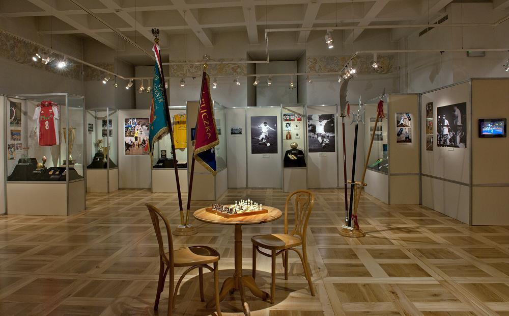 wystawa Sport w Wieliczce XIX -XXI w', fot. L. Kostuś