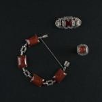 Biżuteria art déco, lata 20.XX w. Kolekcja Adama Leja