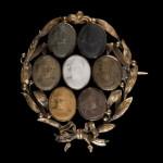 Brosza z kameami, kon. XVIII w., Salon Antyków Kolekcjoner Nowy Sącz
