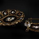 Patera i zestaw do pisania, Florencja, XIX w.Kolekcja Adama Leja