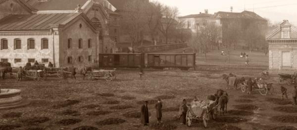 Rynek Dolny, fot. Włdysłw Gargula, lata 20.-30. XX w.