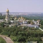 Panorama Ławry Kijowsko-Peczerskiej. Widok od południa1