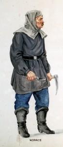 kopacz przed zjazdem do kopalni pobierał z Zamku Żupnego łój do kaganka oraz otrzymywał posiłek w kuchni żupnej