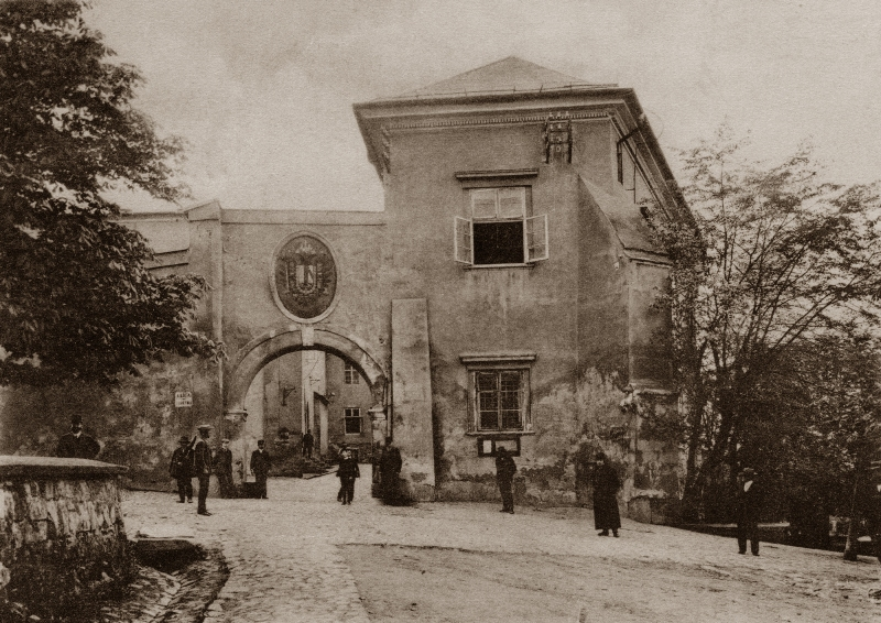 Zamek Żupny, fot. jan Czernecki 1908-1910