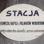 Tablica informacyjna z kopalni wielickiej, fot. Artur Grzybowski