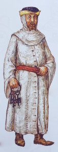 szafarz, rys. Alfons Długosz