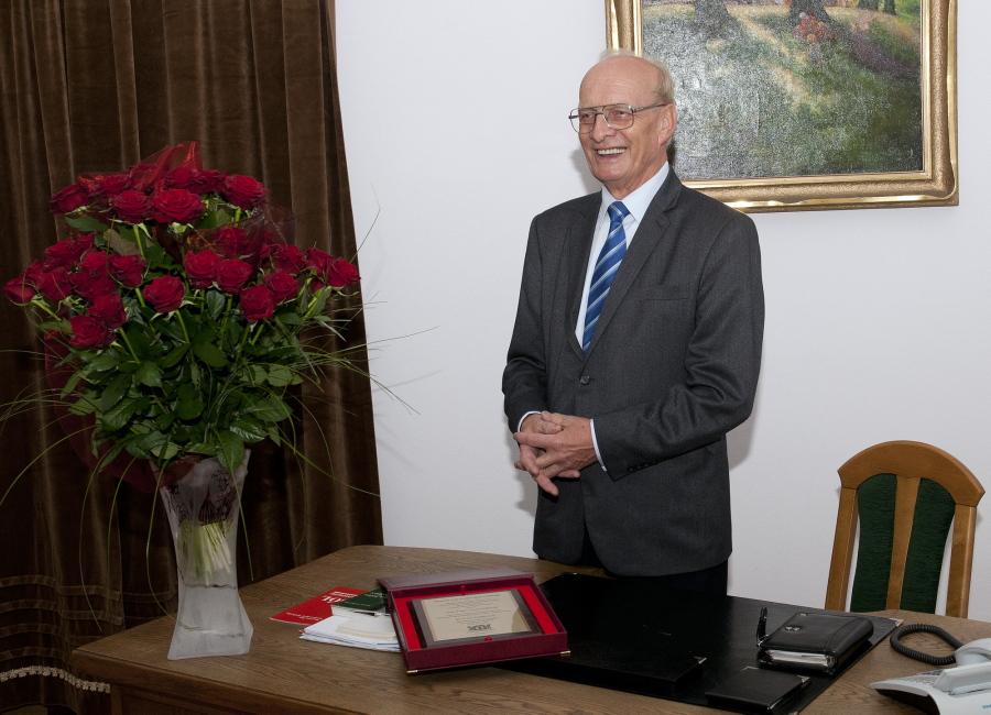 Pożegnanie Dyrektora prof. Antoniego Jodłowskiego