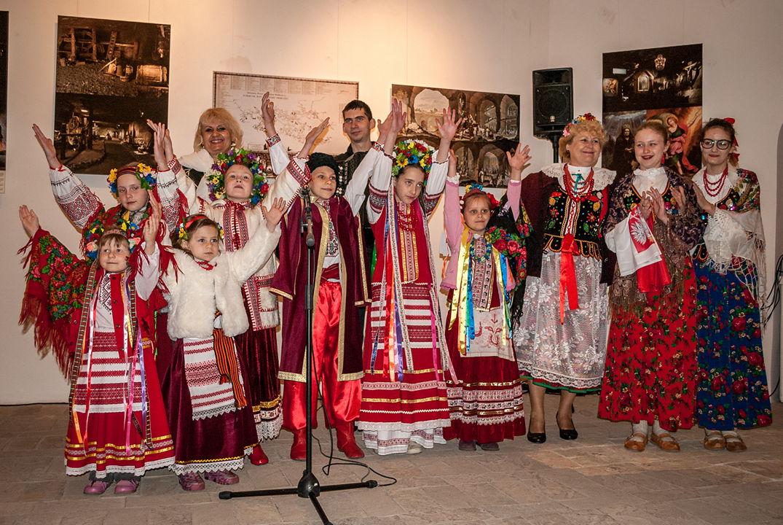 Z wystawą na Ukrainie