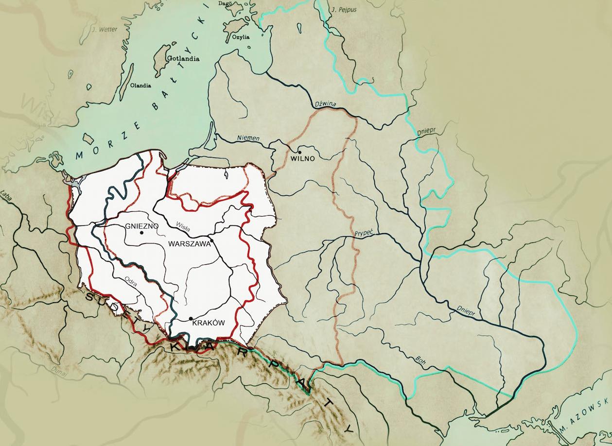 Wystawa: Zmiany granic Polski na przestrzeni dziejów