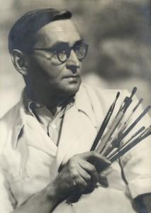 Alfons Długosz - twórca Muzeum, malarz, grafik, pedagog, fotograf
