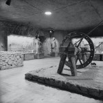 górnicza ekspozycja muzeum w 1966 roku, fot. Henryk Hermanowicz