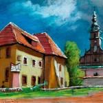 Zamek Żupny, mal. S. Kmiecik1