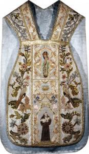 Ornat Franciszek z dyscypliną 1660-1670, Klasztor Franciszkanów OFMConv w Krakowie