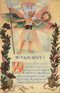Akt fundacyjny sztandaru związku legionistów polskich w Wieliczce 1930 r. wł. Andrzej Gaczoł