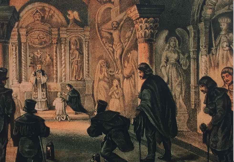 Album: Kaplica św. Antoniego w kopalni soli w Wieliczce