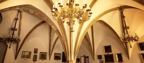 262 sala gotycka Zamek Żupny, Wieliczka Żup Krakowskich Wieliczka