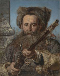 Jan Matejko, Portret Ostafiego Daszkiewicza. Muzeum Śląskie w Katowicach