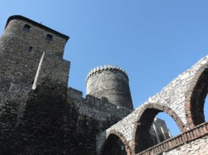 Magdalena Jasińska, Zamek w Będzinie